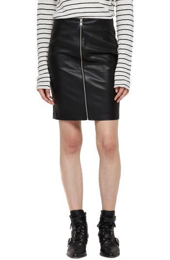 ALLSAINTS Axel Faux Leather Skirt
