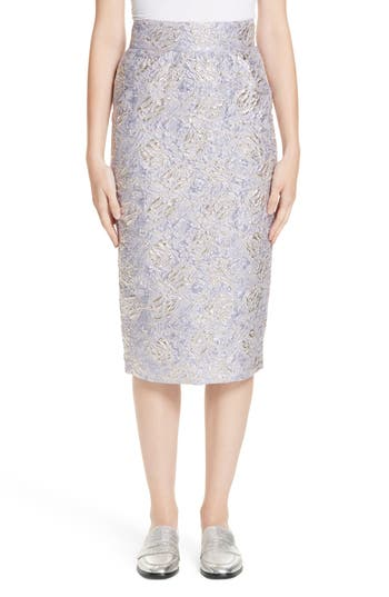 Roseanna Lauren Brocade Pencil Skirt