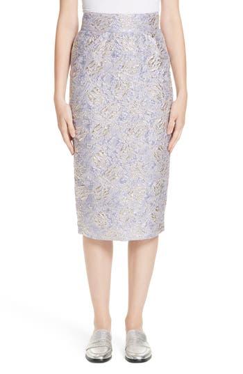 Roseanna Lauren Brocade Pencil Skirt