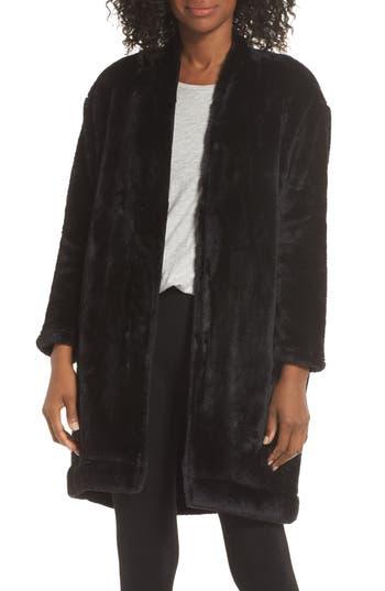 Nordstrom Lingerie So Soft Plush Cocoon Cardigan