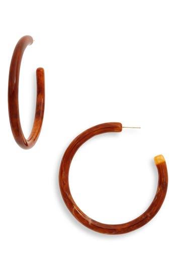 Cult Gaia Large Geneva Tubular Hoop Earrings