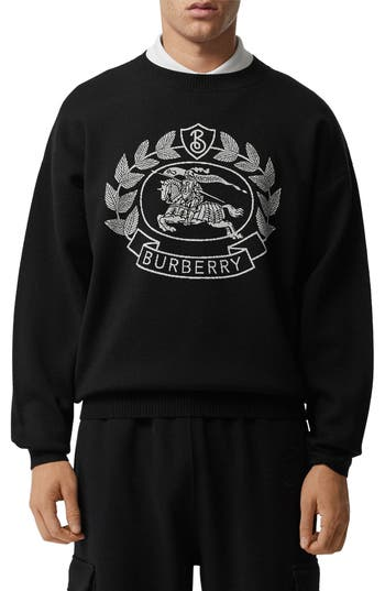 Burberry Bilston Crest Crewneck Sweater