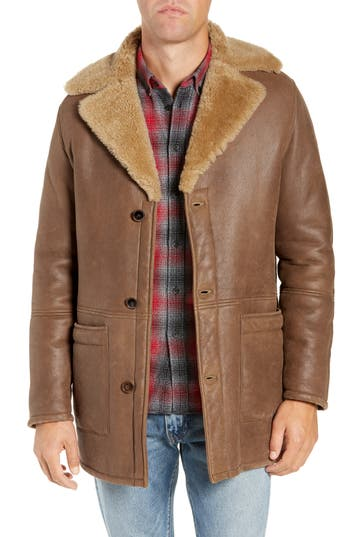 Levi's® Made & Crafted™ Classic Genuine Shearling Coat
