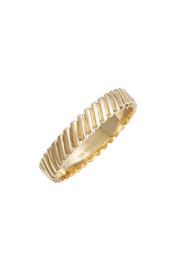 Bony Levy Oblique Beveled Stackable Ring