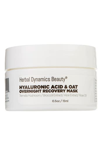 Herbal Dynamics Beauty® Hyaluronic Acid & Oat Overnight Recovery Mask