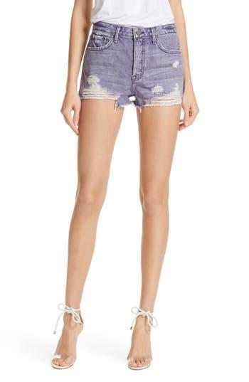 GRLFRND Cindy High Waist Denim Shorts