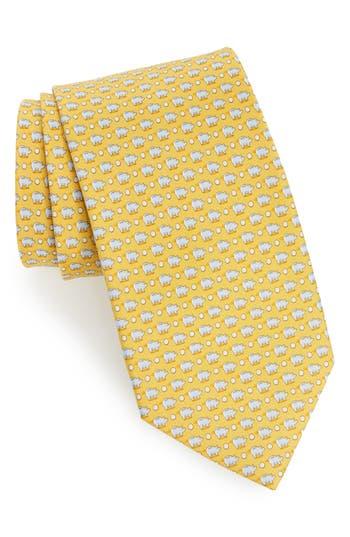 Salvatore Ferragamo Giusto Print Silk Tie