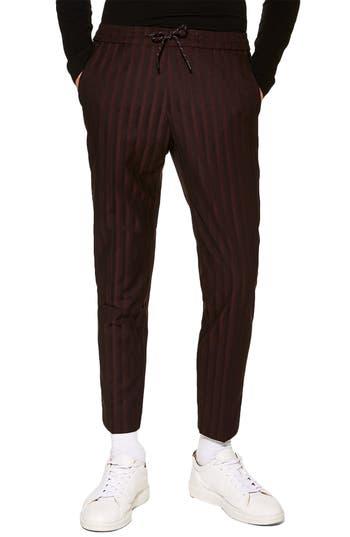 Topman Winston Pinstripe Trousers