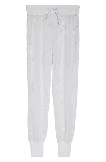 Blanc Noir Poolside Mesh Jogger Pants