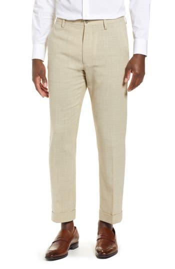 Zanella Noah Flat Front Stretch Trousers