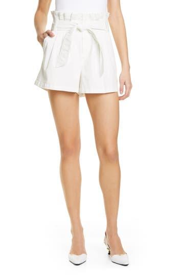 Cinq à Sept Emile Paperbag Waist Shorts