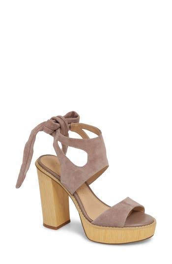 Very Volatile Ginsy Tie Back Platform Sandal (Women)