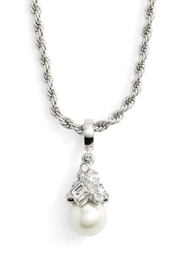 Women's Givenchy Imitation Pearl Pendant Necklace