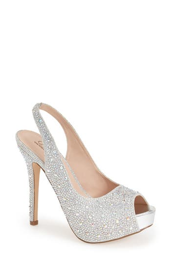 Women's Lauren Lorraine 'Candy' Crystal Slingback Pump at NORDSTROM.com