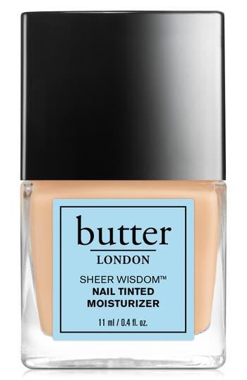 Butter London 'Sheer Wisdom(TM)' Nail Tinted Moisturizer - Light