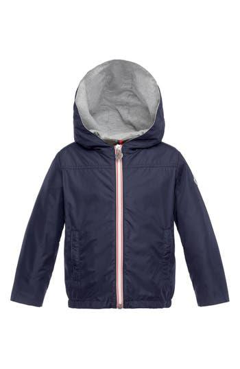 Boy's Moncler 'Urville' Nylon Rain Jacket