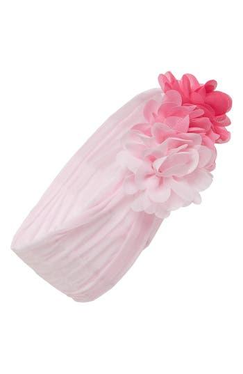 Baby Bling Chiffon Ruffle Headband, Size One Size - Pink