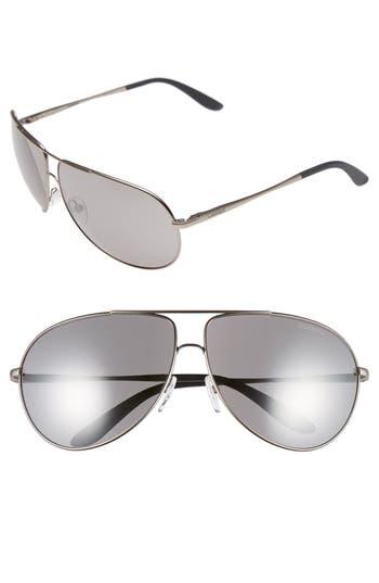 Carrera Eyewear Aviator Sunglasses - Dark Ruthenium/ Black Mirror