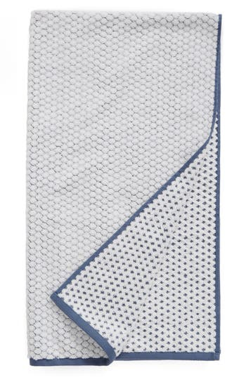 Nordstrom At Home Cobble Bath Towel, Size One Size - Blue