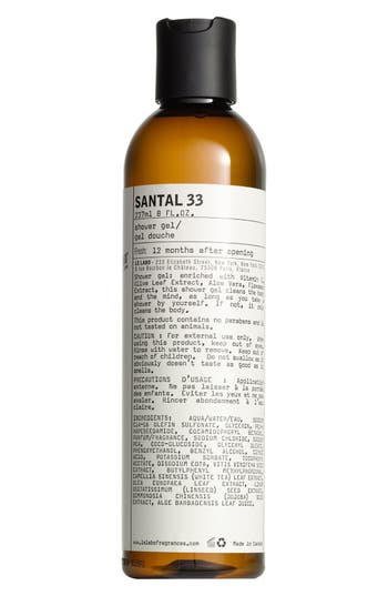 'SANTAL 33' SHOWER GEL