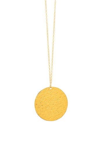 Women's Gorjana 'Faye' Pendant Necklace