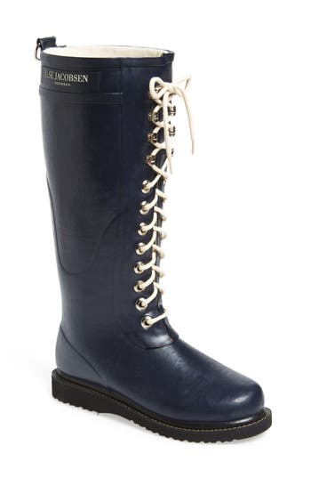 Ilse Jacobsen Hornbaek Rubber Boot Blue
