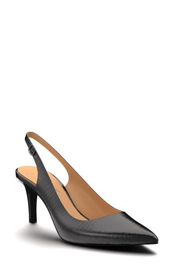 Shoes Of Prey Slingback Pump, Black