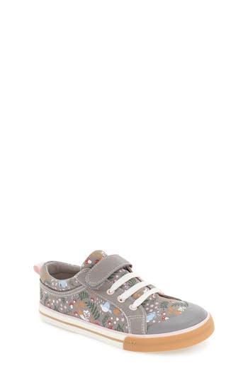 Girls See Kai Run Kristin Sneaker Size 13 M  Grey