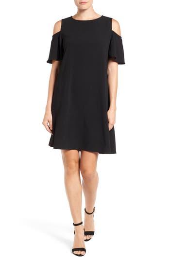 Women's Bobeau Cold Shoulder Shift Dress