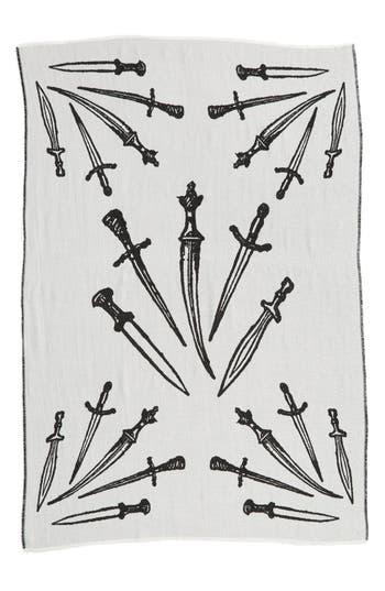 Women's Rag & Bone 'Dagger' Oversized Jacquard Scarf