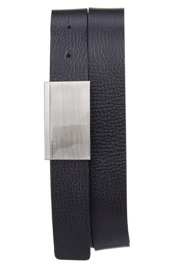 Ck Calvin Klein Leather Belt