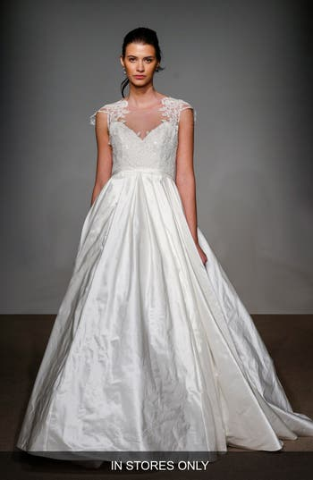Anna Maier Couture Renee Embellished Silk Taffeta Gown