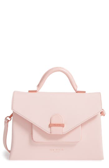 Ted Baker London Faux Leather Satchel -