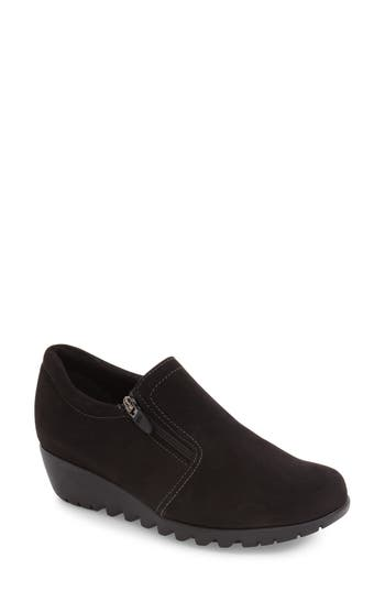 Women's Munro Napoli Zip Bootie, Size 4 M - Black
