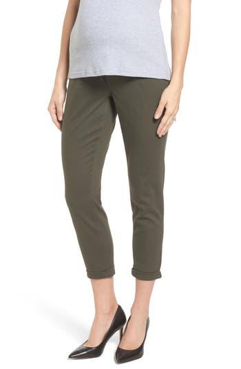 Women's 1822 Denim Crop Skinny Maternity Jeans