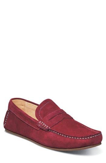Florsheim Denison Driving Loafer, Red