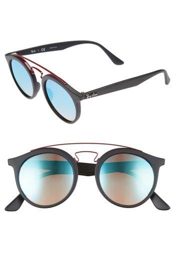 Ray-Ban Highstreet 4m Gatsby Round Sunglasses -