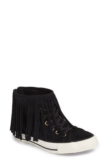 Converse Chuck Taylor All Star Fringed High Top Sneaker