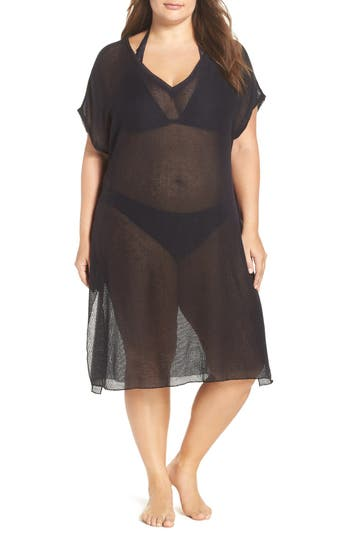 Plus Size Women's Becca Etc. By The Sea Cover-Up Tunic