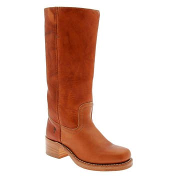 Women's Frye 'Campus 14L' Boot, Size 6.5 M - Brown