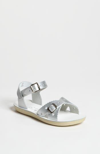 Girls Salt Water Sandals By Hoy Sweetheart Sandal Size 1 M  Metallic