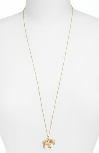 Women's Anna Beck Jewelry That Makes A Difference Elephant Pendant Necklace