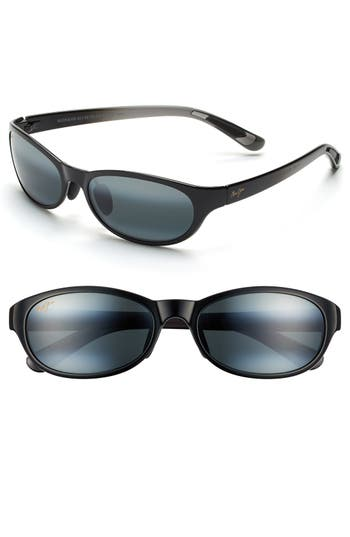 Maui Jim Pipiwai Trail 5m Polarized Sunglasses - Gloss Black
