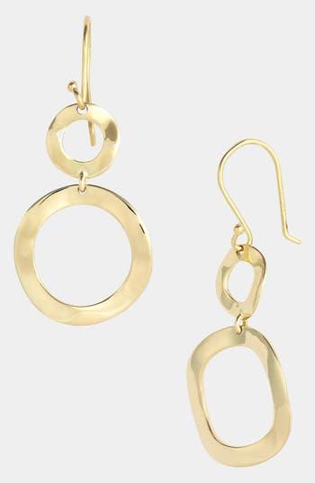 Ippolita 'Plain - Mini Snowman' 18k Gold Drop Earrings