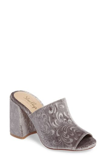 Shellys London Dalia Open Toe Mule, Grey