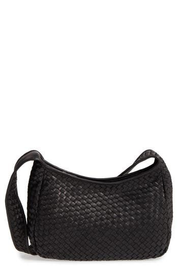 Robert Zur Small Delia Leather Hobo - Black at NORDSTROM.com
