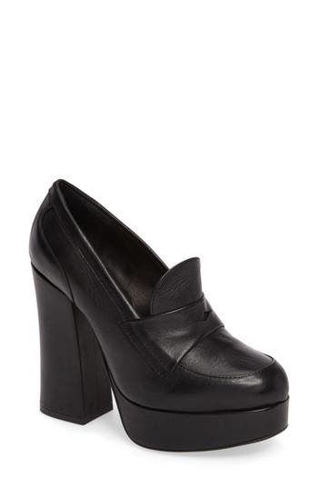 Shellys London Trina Platform Loafer Pump