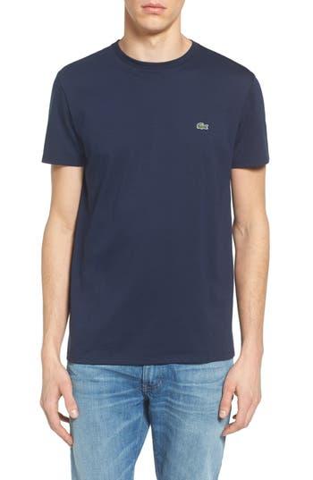 Lacoste Pima Cotton T-Shirt, (m) - Blue
