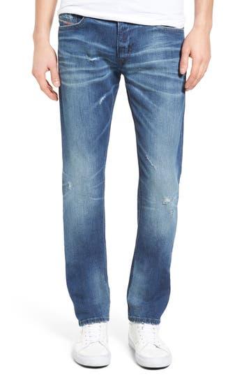 Diesel Thavar Skinny Fit Jeans