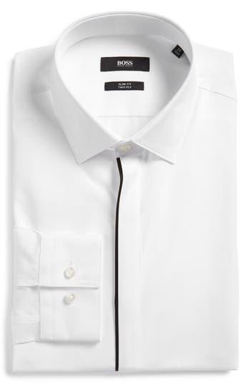 Men's Boss Jamis Slim Fit Solid Dress Shirt